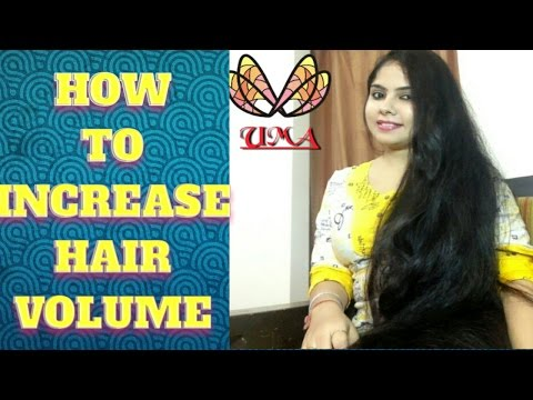 HOW TO GET THICK HAIR IN 1 DAY- HAIR VOLUME BOOSTER#GROW LONG HAIR #hair #beauty #health