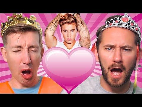 Princess Matthias ❤ Justin Bieber | Dollar Store Challenge 2