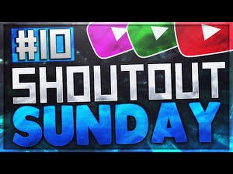 Shoutout Sunday Series Ep.10 ''Gain More Subscribers''!! (Christmas Edition)