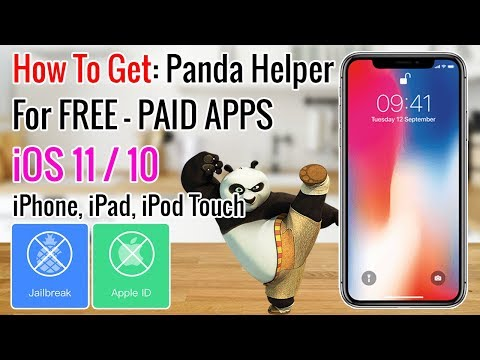 How To Get Panda Helper | Free Apps & Tweaks iOS 11 - 11.1.2 / 10 (iPhone, iPad, iPod Touch) WOW!