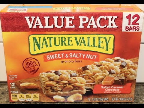 Nature Valley Sweet & Salty Nut: Salted Caramel Chocolate Granola Bar Review