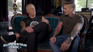 Goldust honors Dusty Rhodes with a tattoo when Superstar Ink returns this Thursday