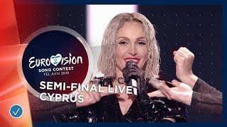 Cyprus - LIVE - Tamta - Replay - First Semi-Final - Eurovision 2019