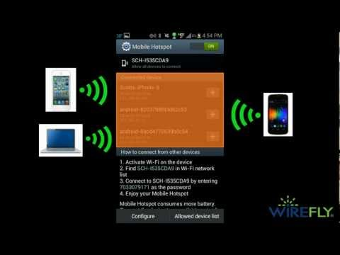 How To Turn Your Android Smartphone Into A Mobile Hotspot