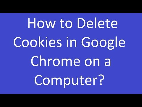 How to Delete Cookies in Google Chrome on a Computer?