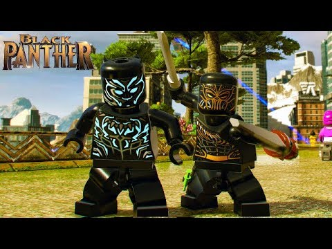 LEGO Marvel Super Heroes 2 All Black Panther Movie Characters Unlocked