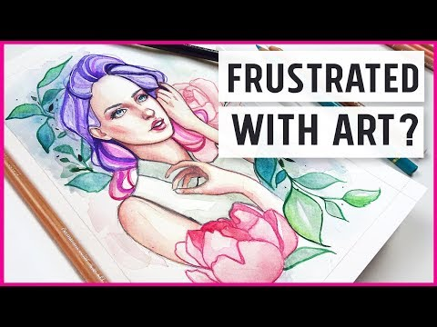 Feeling Frustrated with your Art? 【Sketchbook Diaries Ep.8】
