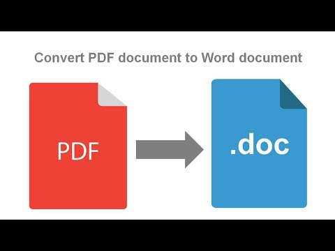 How to Convert PDF to Word Online Free