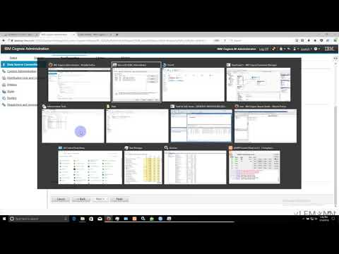 IBM Cognos FM Combine Data From Multiple Database