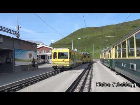 Train Journey from Interlaken to Jungfraujoch