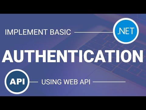 Basic Authentication using Web API with example | ASP.Net