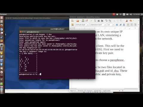 Setup SSH (Linux client)