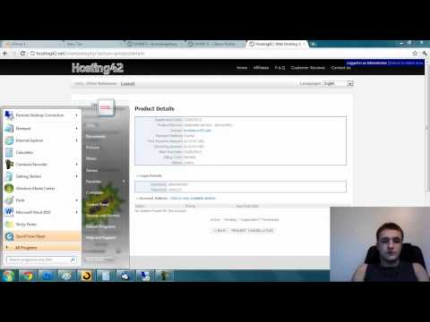 How to login a dedicated server