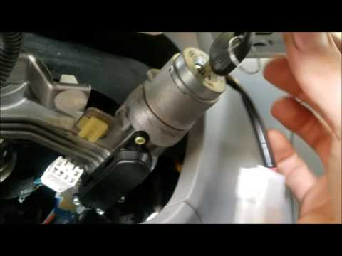 How to replace Hyundai Accent lock cylinder