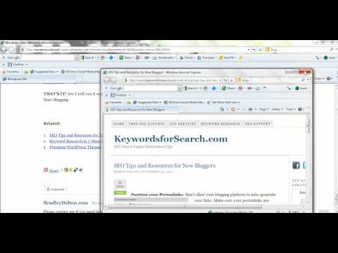 WordPress Tutorial on How To Fix Broken Links
