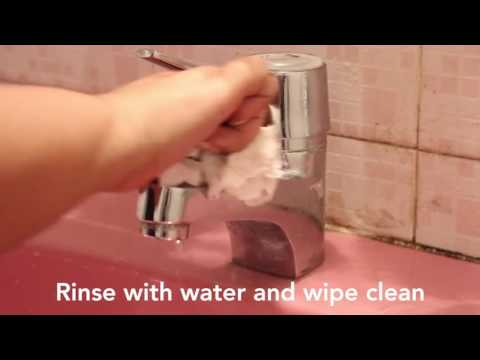 Daily DIY Home- Shiny Tap Cleaning