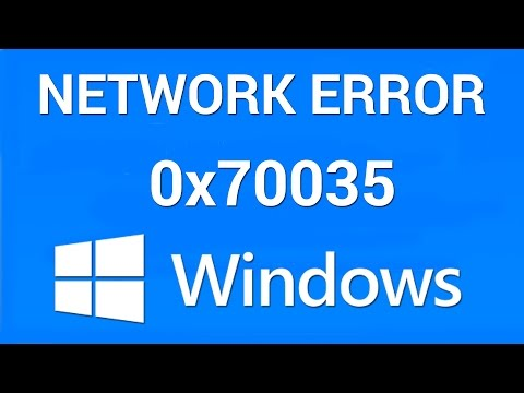 How to Fix Network Path Not Found Error 0x80070035
