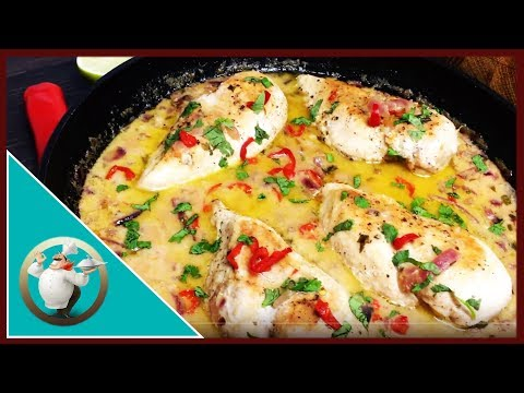 How To Make Coconut Lime Chicken | Creamy Coconut Lime Chicken | Thai Coconut Chicken In 30 Minutes