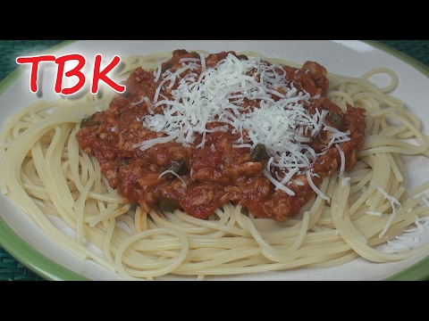 Quick, Simple and Tasty Tuna Pasta Sauce Recipe - Titli's Busy Kitchen