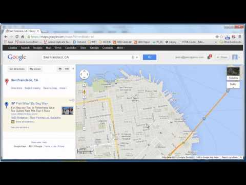 How to Insert a Google Map Into Microsoft Word : Using Microsoft Word