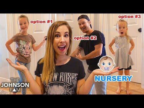 CHOOSING OUR NURSERY ROOM for the BABY! 👶🏼