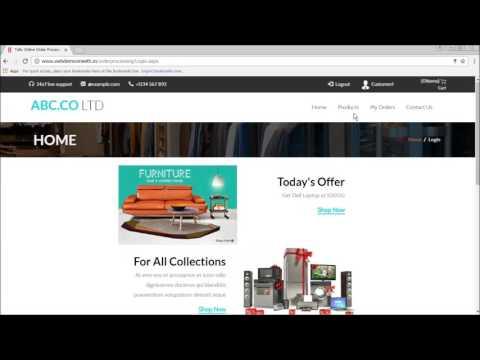 Online Sales Order Processing
