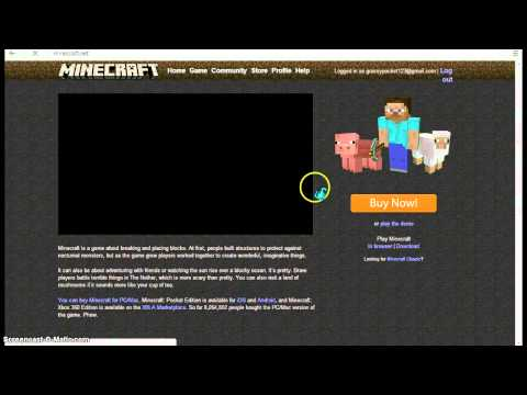 How To Get A Free Minecraft Premium Account! No Downloads! No Surveys!(2012)