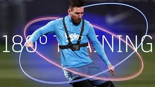 Messi in training, like you've never seen before