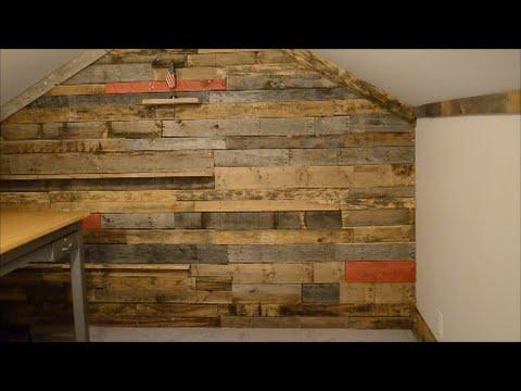 Pallet wall secret door