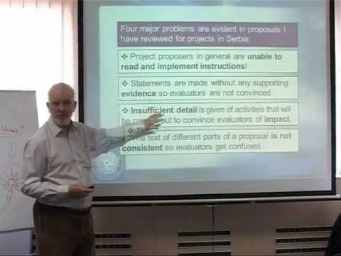 Writing project proposals: secrets to success - Prof Steve Quarrie BSN.MOV