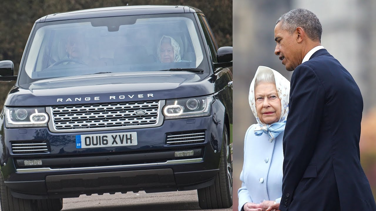 You Can Buy the Range Rover Queen Elizabeth and Barack Obama Rode In Together