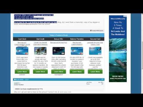 USAA Car loan requirements Credit Repair Forum from Creditnet 49