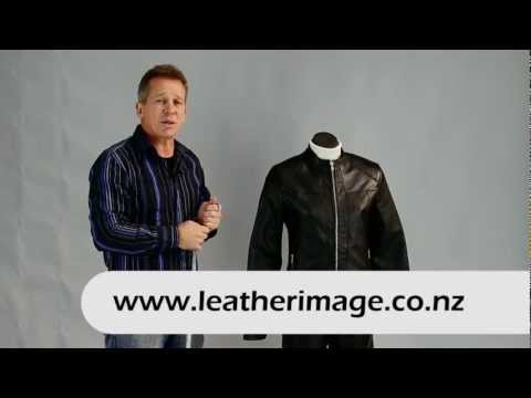 Leather Image How to Measure for a Custom Made Leather Jacket