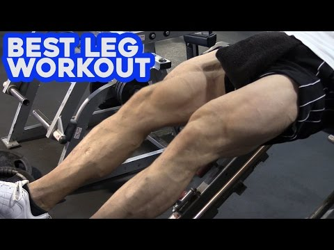 Best Leg Workout for TALL Guys with World's Tallest Bodybuilder Aaron Reed