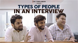 Types of People in An Interview | Watch Cubicles on @The Viral Fever | The Timeliners