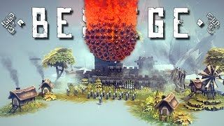 Besiege Creations! - Doomsday Fireball, Amazing HoverCar, Pirate Ship, and More! - Besiege Gameplay
