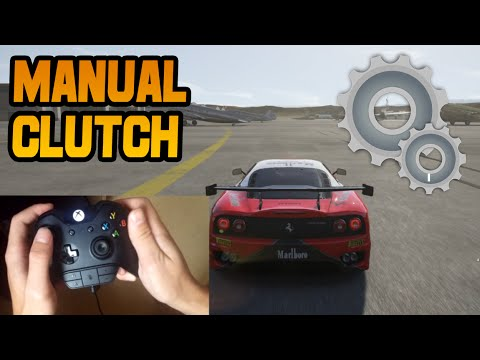 Forza 6 Manual With Clutch Tutorial (Best Way)