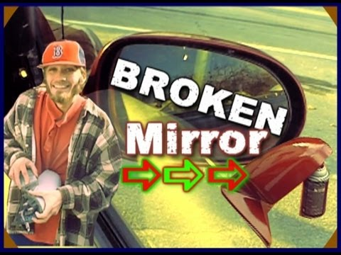 How To Replace A Broken Side View Mirror w/ Sister EXO's 2004 Nissan Sentra | Sand - Paint & Install