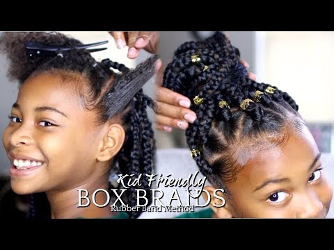 NATURAL HAIR | HOW TO: BOX BRAIDS