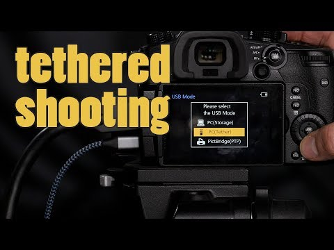 Tethering LUMIX GH5, G9, and GH5S with Adobe Lightroom Classic