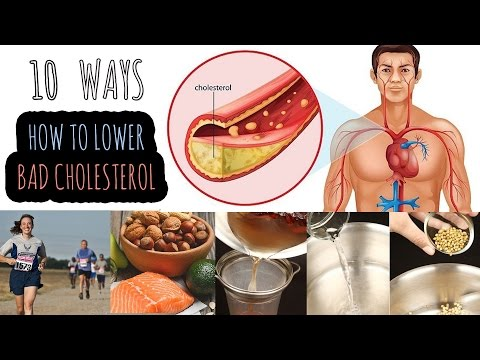 10 Ways to Reduce Bad Cholesterol Level Without Medication