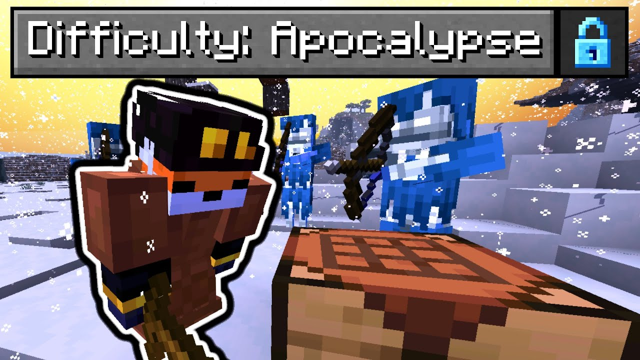 """So I made an """"Apocalypse"""" Difficulty in Minecraft..."""