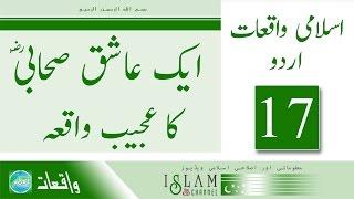 Islami Waqiat 17 : Ek Ashiq Sahabi Ka Ajeeb Waqia : پیر ذوالفقار احمد نقشبندی صاحب | Urdu