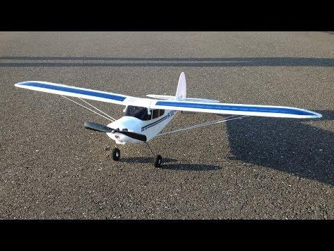 Maiden Flight RC Plane Crash Footage Only - Hobbyzone Super Cub LP RTF Trainer Plane