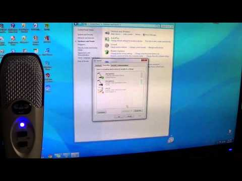 CAD U37 USB Microphone Setup - How to Hear Mic Input onto Speaker or Headphone