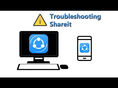 How to use Shareit on PC Troubleshooting Shareit Connection