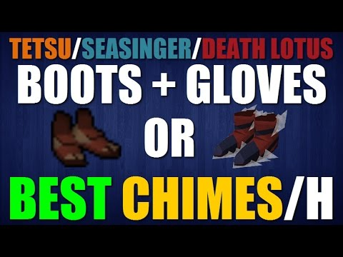 The ARC: Ports Boots/Gloves Review - Best Methods To Get Chimes! [Crystal Siphon]