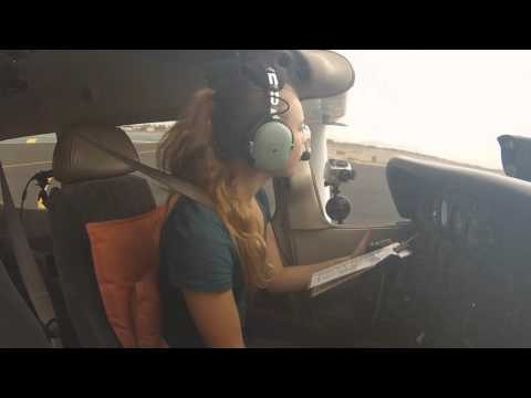 Private Pilot Flight Training : First Student Solo !!!!!