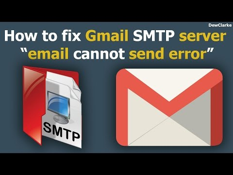 How to fix Gmail SMTP server