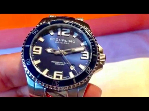 Stuhrling Original Divers 395.33U16 Aquadiver Regatta Champion Professional Watch